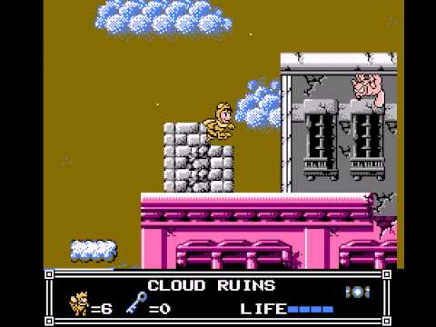 Little Nemo - The Dream Master - Cloud Ruins - Vizzed.com GamePlay - User video