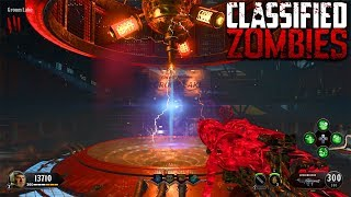 BLACK OPS 4 ZOMBIES - CLASSIFIED MAIN EASTER EGG HUNT GAMEPLAY (Call of Duty BO4 Zombies)