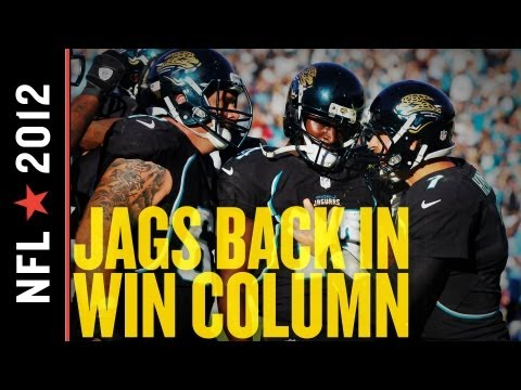The Jacksonville Jaguars are back in the win column after beating the Tennessee Titans, 24-19. The home win improves Jacksonville to 2-9, and the Titans' los...