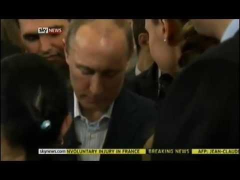 Путин заговорил на английском языке