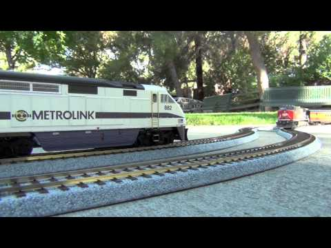 HD- My HO Model Train Collection: Metrolink, Southern Pacific, Union Pacific, etc. Music Videos