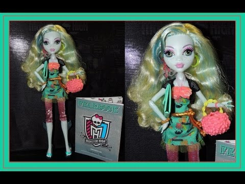 Monster High Picture Day Lagoona Blue Doll Review By WookieWarrior23