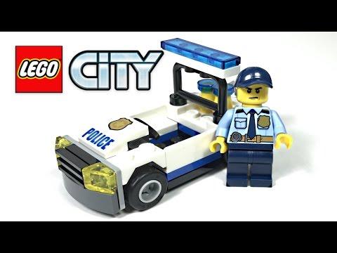 LEGO City Police Car review! 2017 polybag 30352!