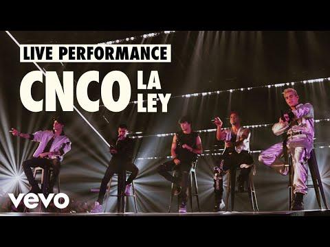 CNCO - La Ley (Live) | Vevo LIFT Live Sessions