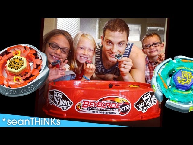 Beyblade Battle! - Beyblades Metal Masters at the Moors House in California