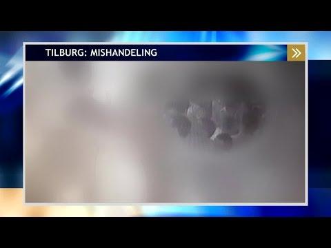 De verdachte van een mishandeling in Tilburg staat op bewakingsbeelden