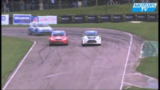 British Rallycross, Gronholm on two wheels