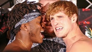 KSI v LOGAN PAUL ** FULL WEIGH IN ** BOXING FIGHT | MANCHESTER