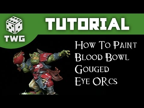 Games Workshop Tutorial: How To Paint Blood Bowl Gouged Eye Orcs thumbnail