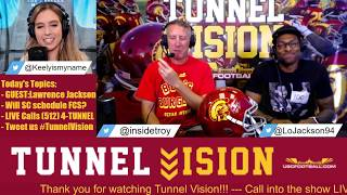 Tunnel Vision - Former USC All-American Lawrence Jackson in studio