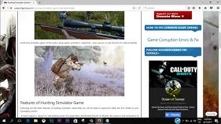 How to download Hunting Simulator 2017 for free(PC)