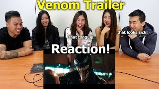VENOM - Official Trailer Reaction | Aussie Asians