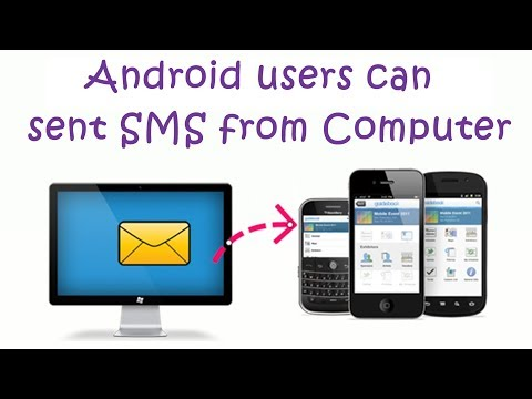 Android users can sent SMS from Computer