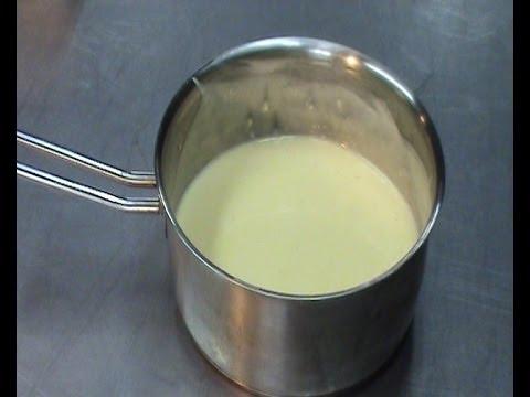 RECETA DE LA CREMA INGLESA PROFESIONAL (fácil para helados)