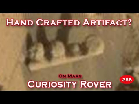 Amazing Hand Crafted Object Imaged On Mars By NASA Curiosity Rover SOL 753