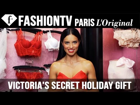 "Victoria's Secret Holiday Gift Picks ft Adriana Lima, Karlie Kloss | Ellie Goulding ""Burn""