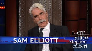 Sam Elliott Reads Lady Gaga Lyrics