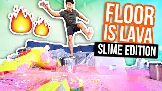 THE FLOOR IS LAVA SLIME! (Slime Edition)