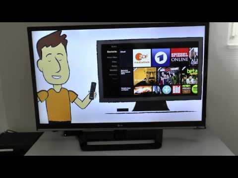 Die erste Einrichtung des Amazon Fire TV (FullHD/Deutsch)
