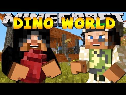 Minecraft Dinosaur World : Dinosaur Egg Thief! video