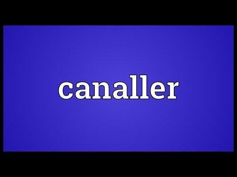 Header of canaller