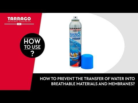 Tarrago Nano Protector on suede shoes
