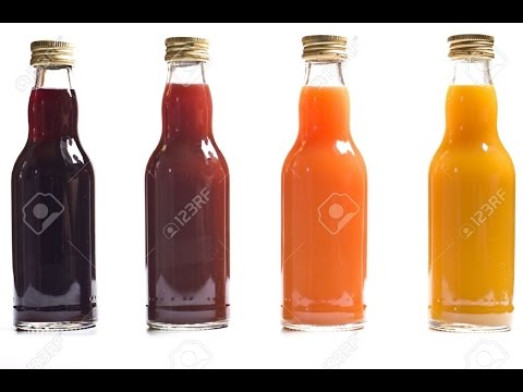Sugar Content in Bottled 100% Fruit Juice
