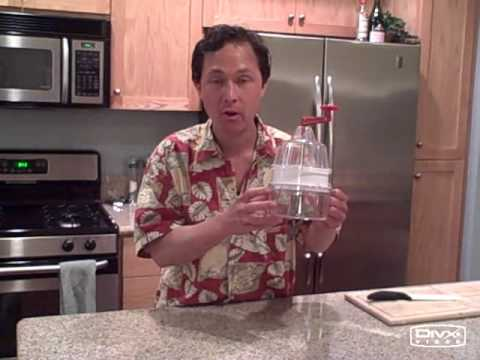 New Red Handle Saladacco Spiral Slicer Raw Food Pasta Noodle Maker Review