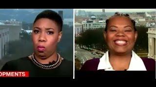 Brunell Donald-Kyei DESTROYS CNN and Hillary Supporter