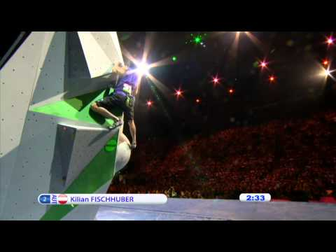 IFSC Climbing World Championships Paris 2012 - Replay Men's Boulder an...