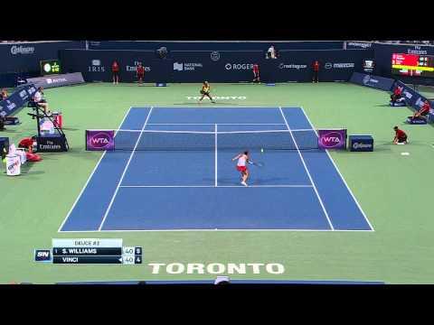 Rogers Cup - Toronto - Serena Williams v. Roberta Vinci