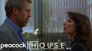 "House - ""ATTENTION I Slept With Lisa Cuddy!!"" 