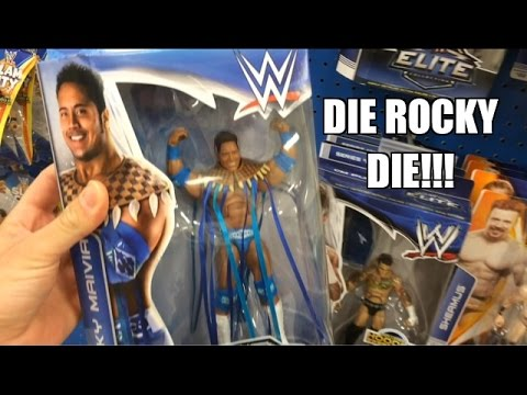 WWE ACTION INSIDER: Rocky Maivia TARGET Exclusive ELITE Flashback store hunt! BP30 ALSO!