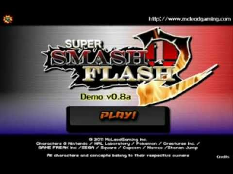 Super Smash Flash 2 v0.8 - Intro