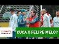 """Cuca x Felipe Melo? Entenda """"briga"""" em rachão no Palmeiras"""