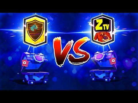 БИТВА СУНДУКОВ МЕЖДУ ЮТУБЕРАМИ | Holdik VS Zebrail TV | Clash Royale
