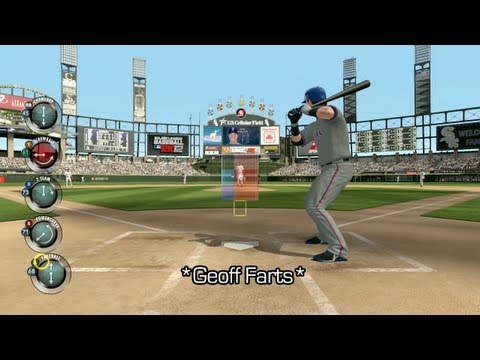 Lets Play MLB 2K12 - With Geoff and Gav