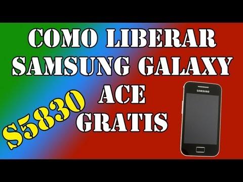 Como liberar gratis el Samsung Galaxy ACE (SGA) (S5830)