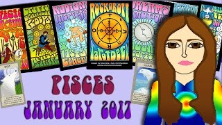PISCES  JANUARY 2017 Tarot psychic reading forecast predictions free