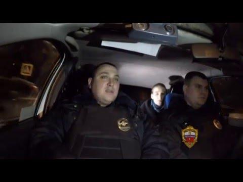 Дежурство вместе с экипажем ППСП в районе Бибирево г. Москвы