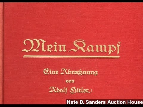 Signed Copies Of Hitler's 'Mein Kampf' Heading To Auction