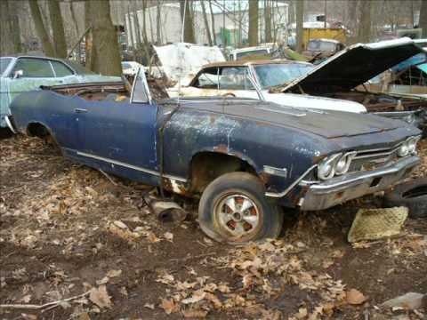 Old cars in junk yards #4