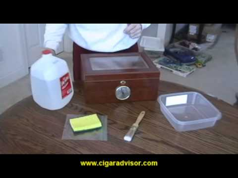 How to set-up your humidor