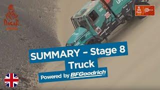 Summary - Truck - Stage 8 (San Juan de Marcona / Pisco) - Dakar 2019