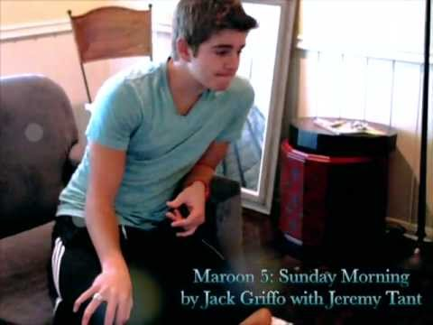Sunday Morning Maroon 5 cover by Jack Griffo - YouTube