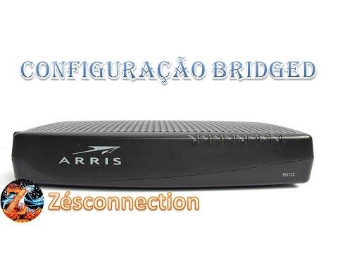 Configurar modem/roteador Arris TG862 como bridged