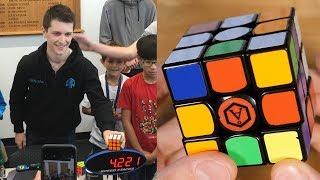 Breakdown of Feliks' Insanely Efficient 4.22 World Record Solve!