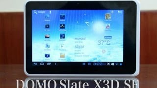 Domo Slate X3D SE - Features & Specifications