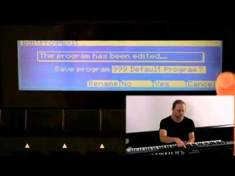 3 Kurzweil PC3 Series: Program Mode Editor (Part 1)