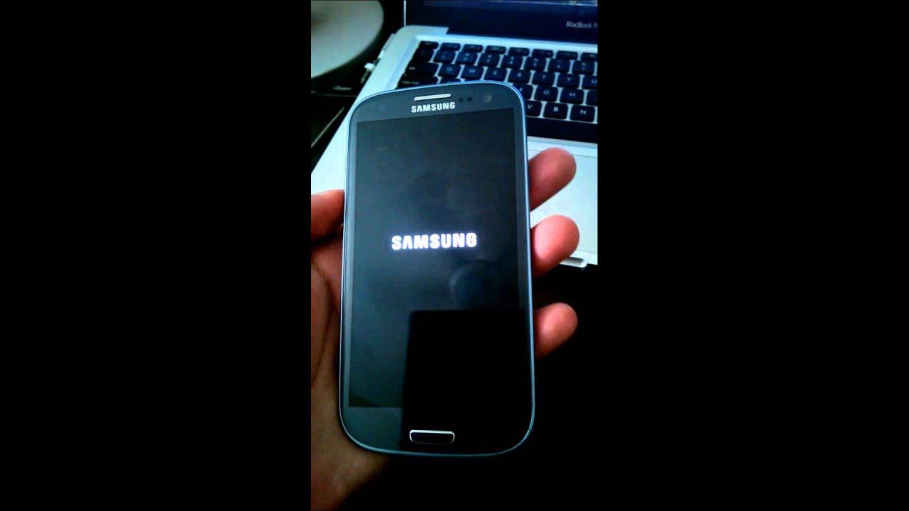 Samsung touch screen not responding